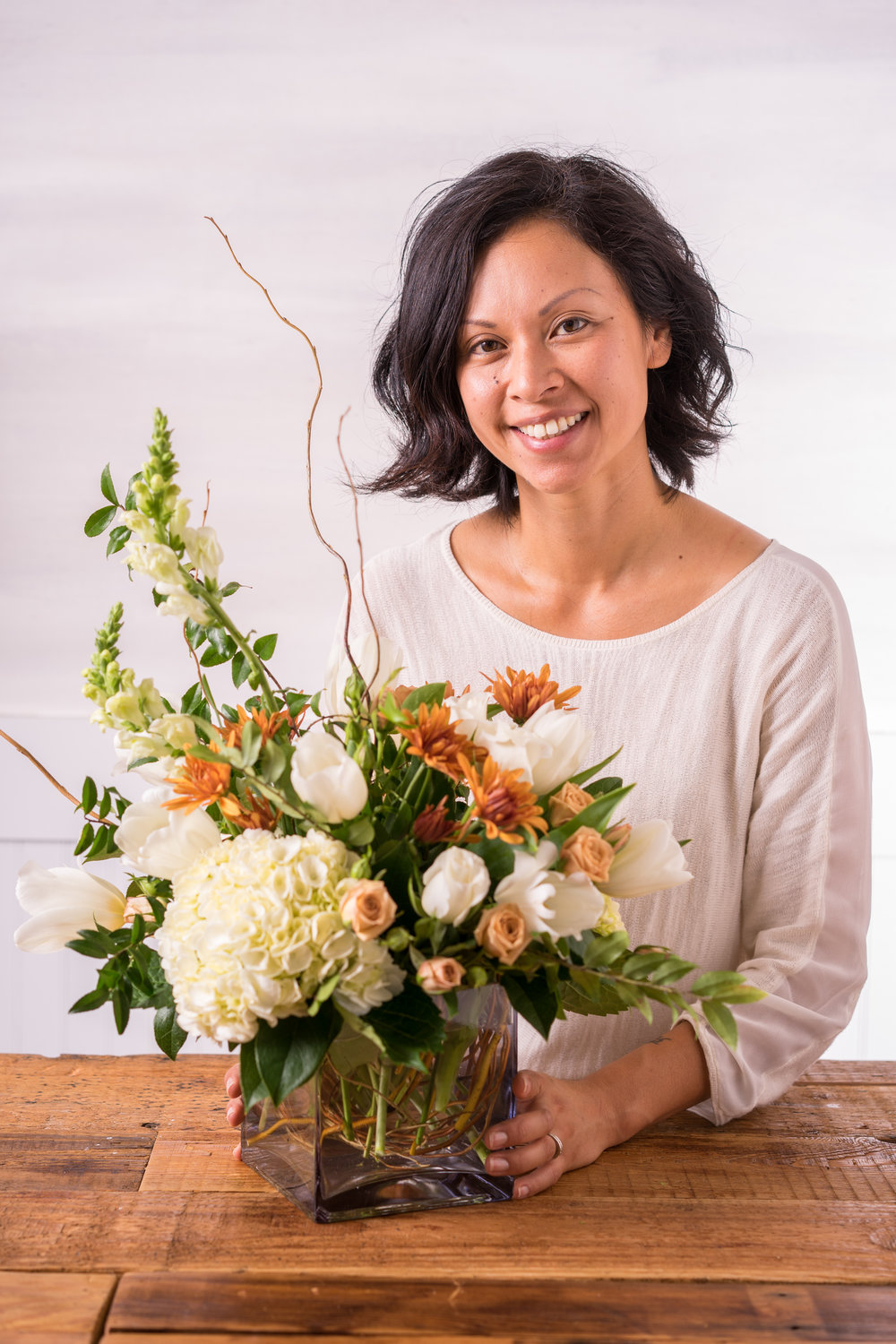 Fall Floral Arranging Hack with Floral Fête