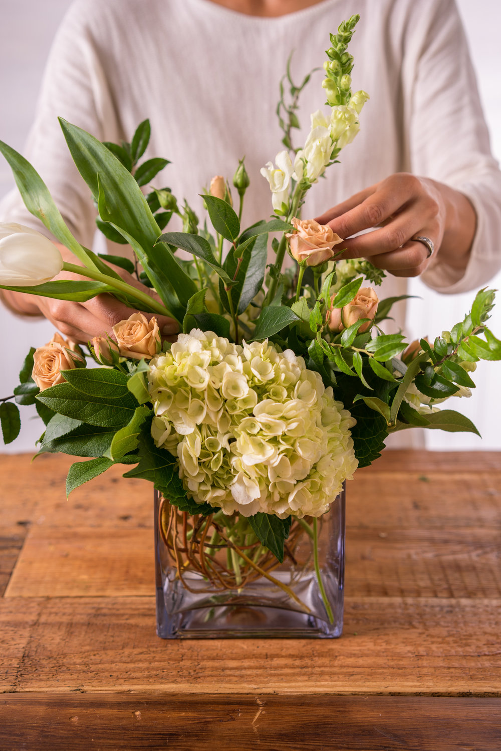 Thanksgiving Floral Arrangement with Floral Fete