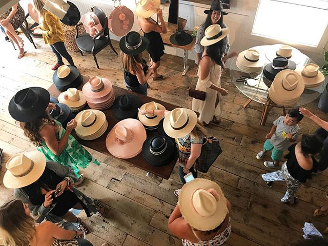 HOLD YER HATS, ladies! 💃🏻💃🏻💃🏻 Scenes from last year's @anhcoy Hats & Rosé Shopping Event - you don't want to miss out today, stop by today from 2-5pm to shop the newest collection! I'm going to be like a kid in a 🍭 store. Can't 🤗 effin' wait❗️ . . . #anhcoytribe #anhcoy #popup #popupshop #popupevent #thetravelwomen #shopnow #shopstyle #ootd #whattowear #weworewhat #instastyle #instafashion #summerstyle #girlswithgypsysoul #thatsdarling #darlingmoment #darlingweekend #visualcoop  #lagunabeach #allthingslagunabeach #lagunabeacsecrets #lagunabeachcommunity #visitlagunabeach