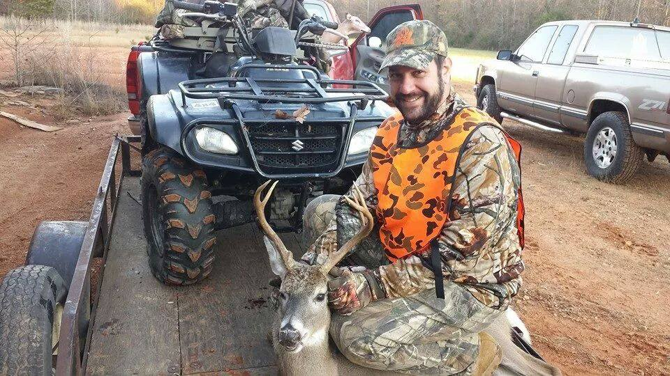 Andy Wickman Treasurer of Warrior Outdoors and his nice Georgia 7 pt.
