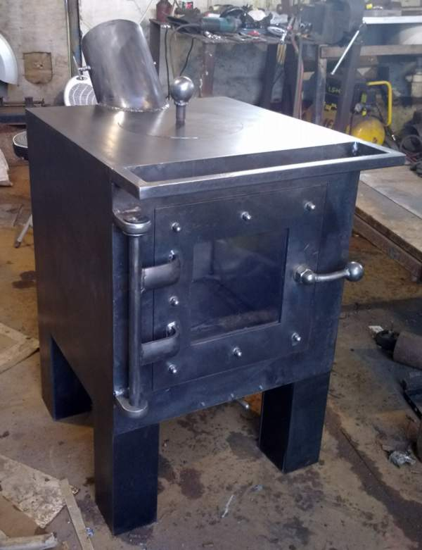 Multifuel Cube stove