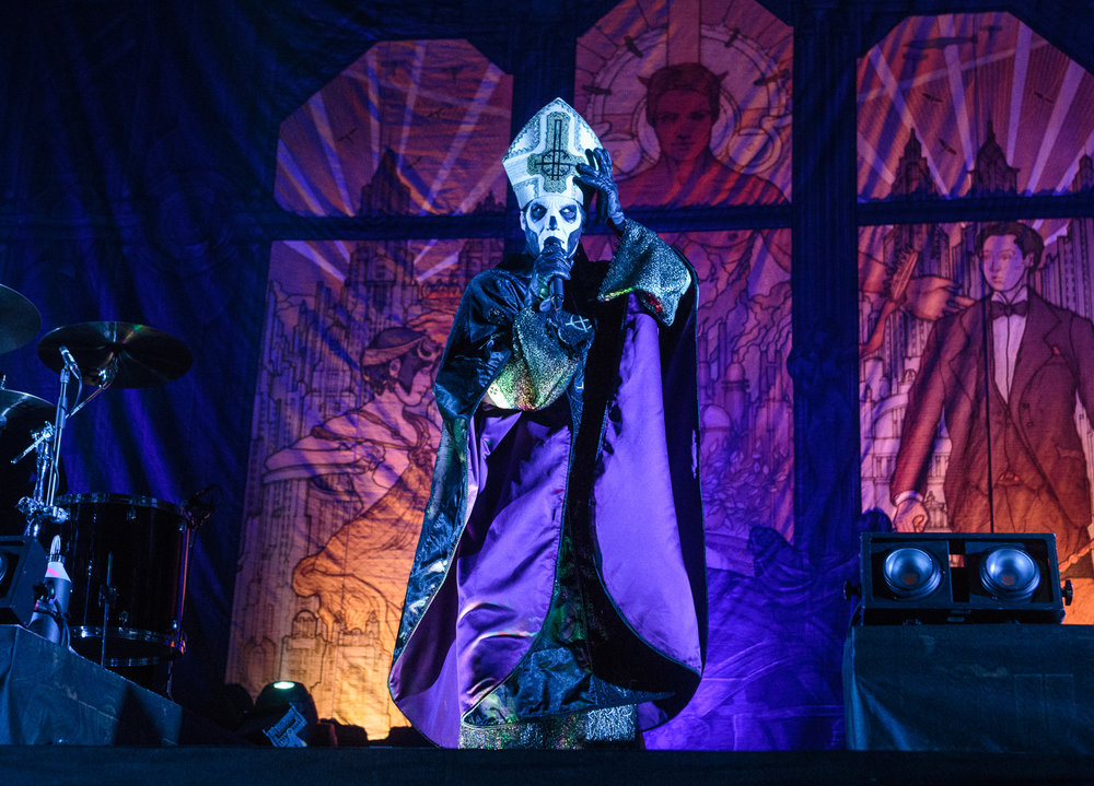 Ghost performs at The Tabernacle in Atlanta, Georgia on October 9th, 2015. (Photo by David A. Smith/DSmithScenes)
