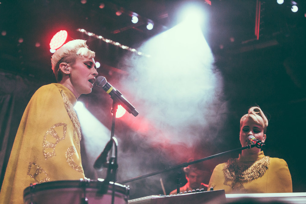 Lucius performs at Saturn Birmingham in Birmingham, Alabama on June 8th, 2016. (Photo by David A. Smith/DSmithScenes)