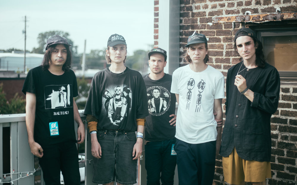 DIIV is photographed before their performance at Saturn Birmingham in Birmingham, Alabama on June 2nd, 2016. (Photo by David A. Smith/DSmithScenes)
