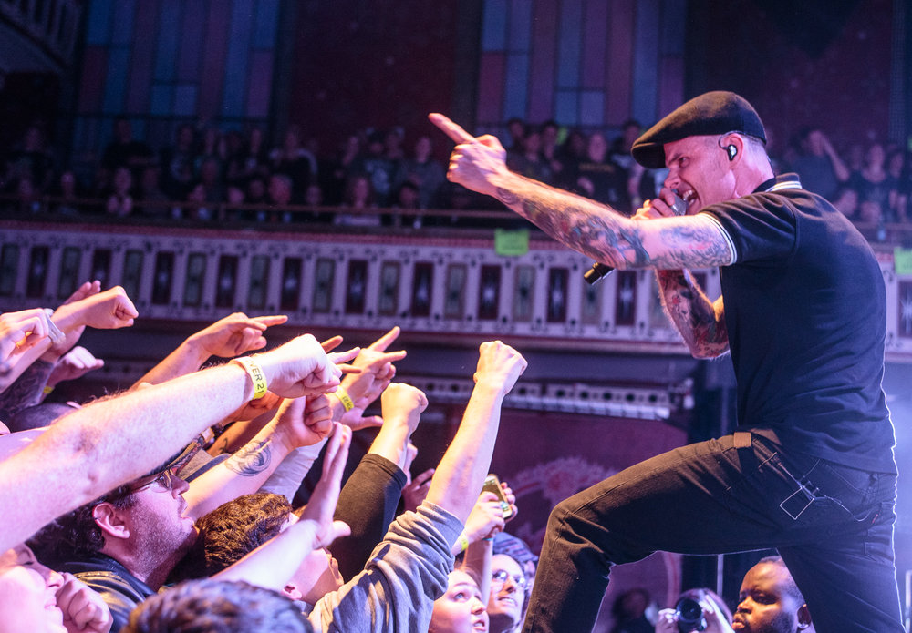 Dropkick Murphys perform at The Tabernacle in Atlanta, Georgia on March 5th, 2016. (Photo by David A. Smith/DSmithScenes)