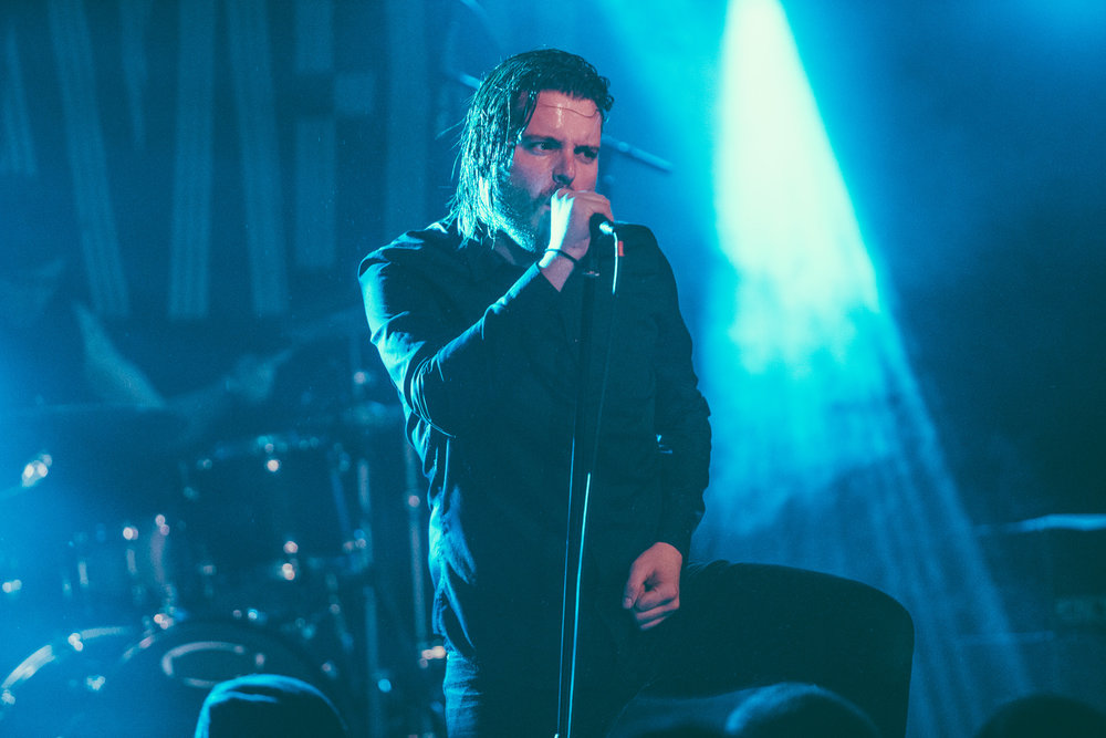 Deafheaven performs at Saturn Birmingham in Birmingham, Alabama on March 6th, 2017. (Photo by David A. Smith/DSmithScenes)