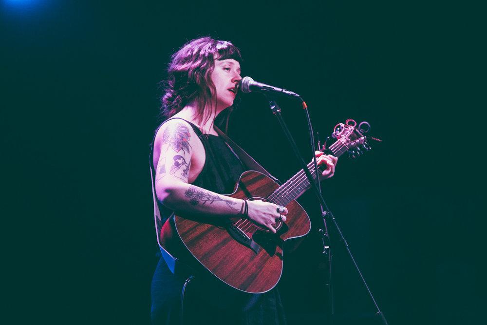Waxahatchee performs in concert at Saturn Birmingham in Birmingham, Alabama on March 19th, 2018. (Photo by David A. Smith/DSmithScenes)