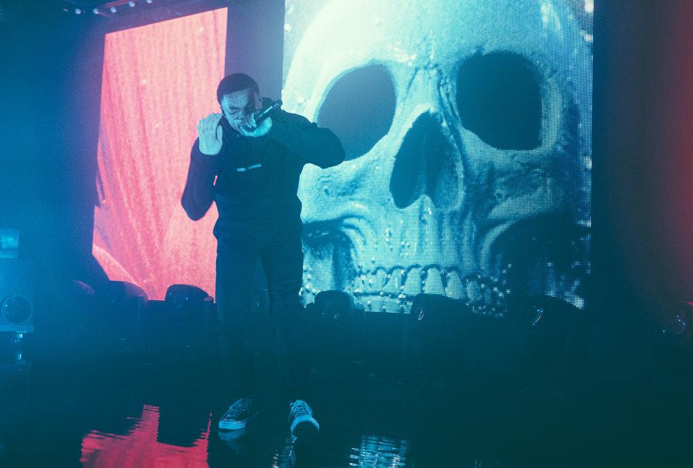 Vince Staples performs at Saturn Birmingham in Birmingham, Alabama on April 4th, 2017. / DSmithScenes