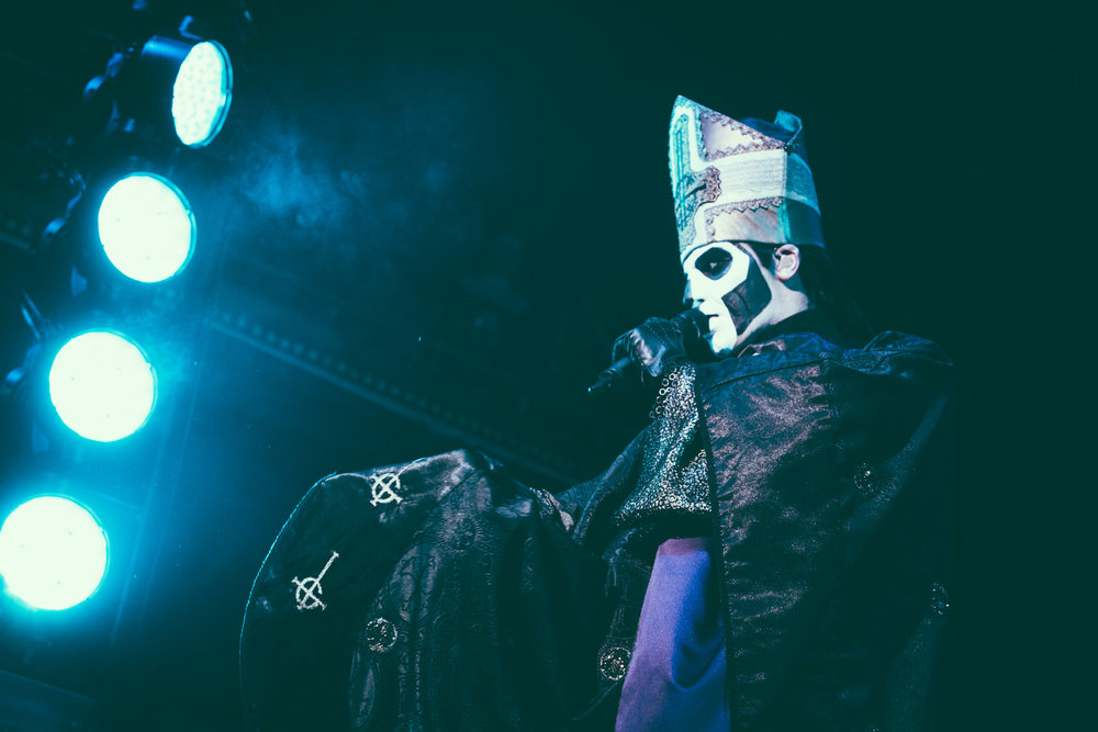 Ghost performs in concert at The Tabernacle in Atlanta, Georgia on June 10th, 2017. (Photo by David A. Smith/DSmithScenes)