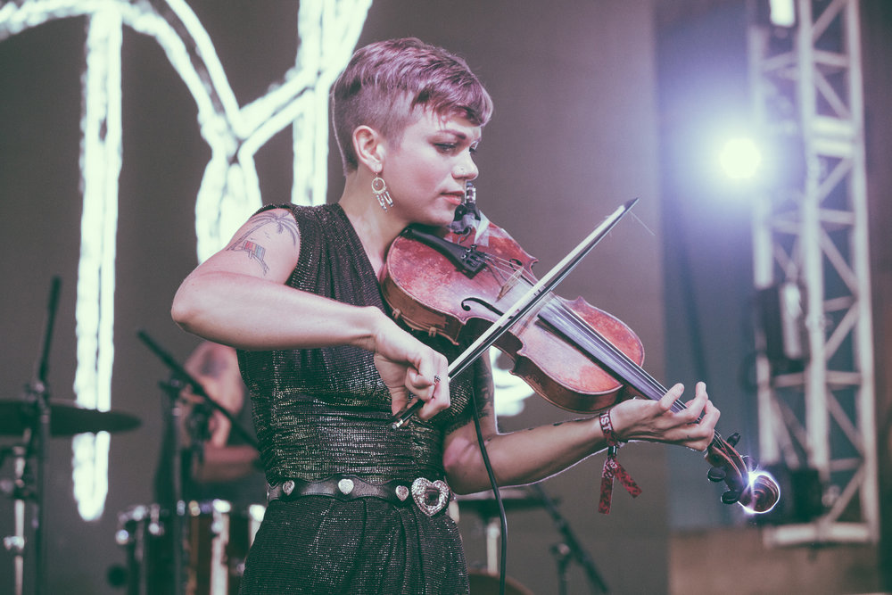Lillie Mae performs in concert during the Sloss Music and Arts Festival at Sloss Furnaces in Birmingham, Alabama on July 16th, 2017. (Photo by David A. Smith/DSmithScenes)