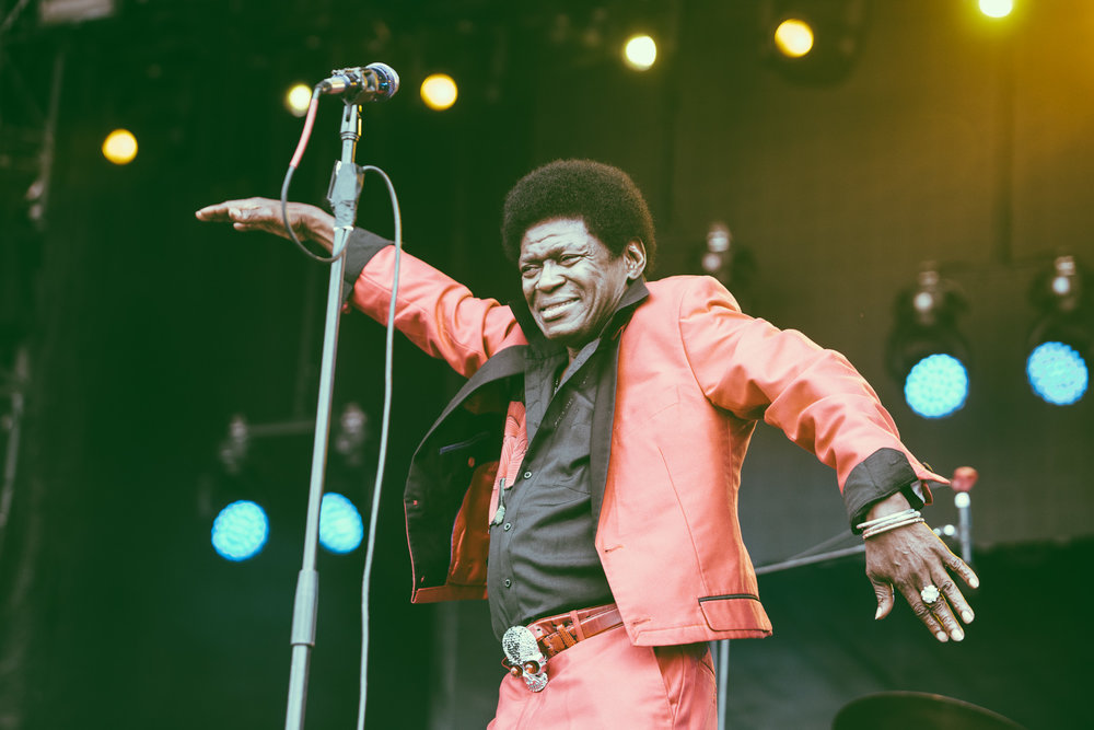 Charles Bradley performs in concert during the 2017 Sloss Music and Arts Festival at Sloss Furnaces in Birmingham, Alabama on July 15th, 2017. (Photo by David A. Smith/DSmithScenes)