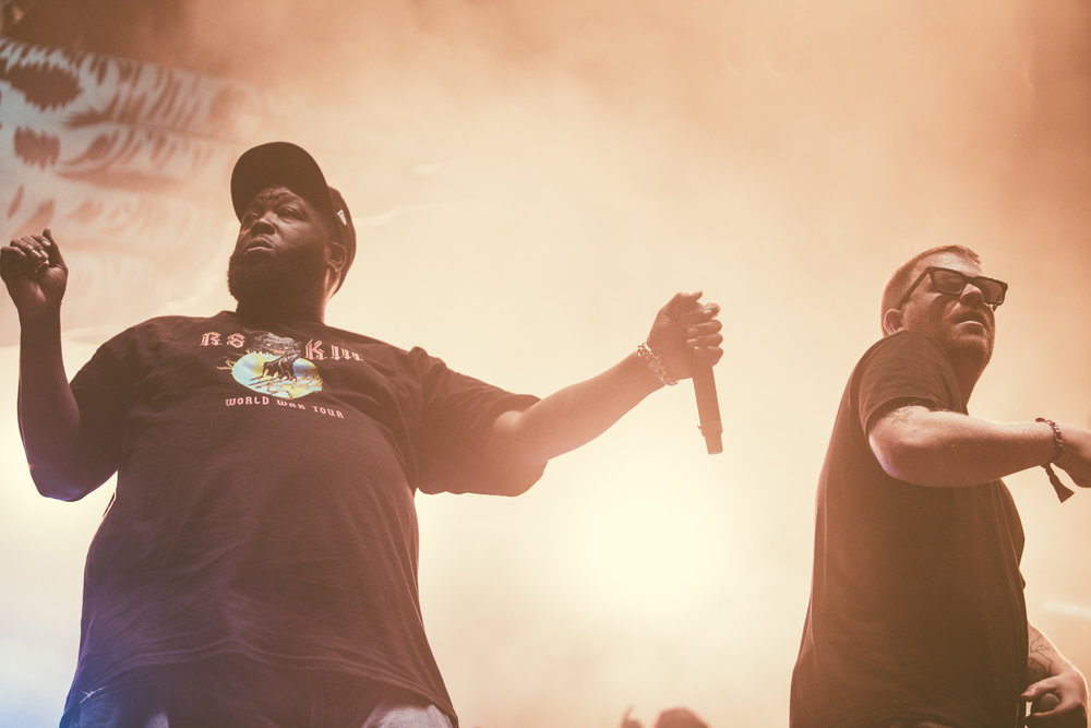 Run The Jewels perform in concert during the Sloss Music and Arts Festival at Sloss Furnaces in Birmingham, Alabama on July 15th, 2017. (Photo by David A. Smith/DSmithScenes)