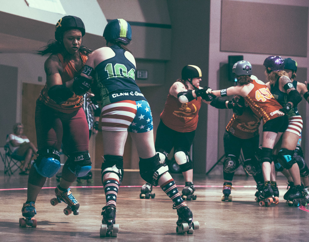 the tragic city rollers closed out their 2017 home slate