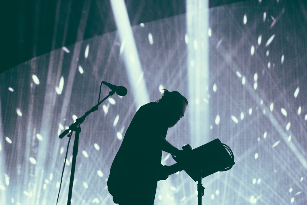 Radiohead performs in Atlanta, Georgia. (Photo by David A. Smith/DSmithScenes