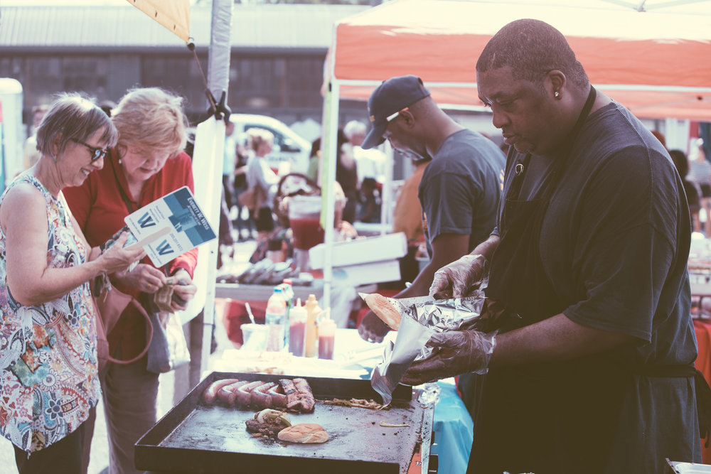 A scene from the Woodlawn Street Market in Birmingham, Alabama on September 23rd, 2017. (Photo by David A. Smith/DSmithScenes)