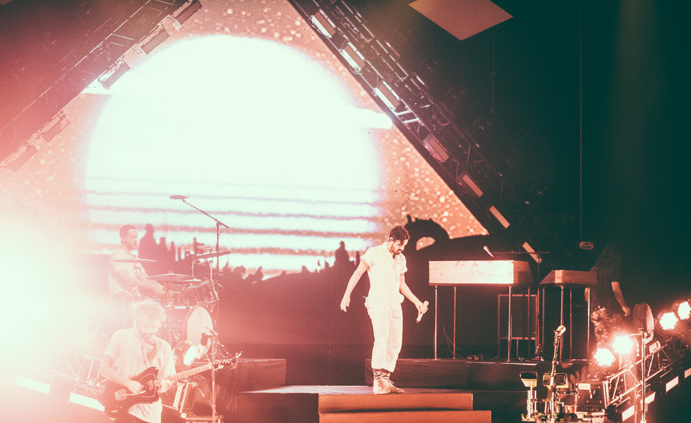 Young The Giant performs in concert at the Birmingham-Jefferson Civic Center Concert Hall in Birmingham, Alabama on September 26th, 2017. (Photo by David A. Smith/DSmithScenes)