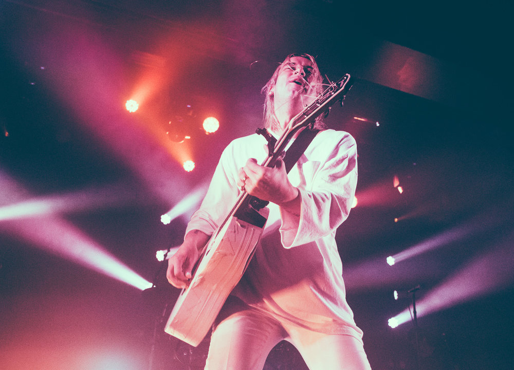 Judah Akers of Judah & The Lion performs in concert at Iron City in Birmingham, Alabama on October 13th, 2017. (Photo by David A. Smith/DSmithScenes)