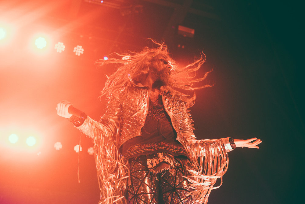 Rob Zombie performs at the Coca-Cola Roxy Theatre in Atlanta, Georgia on October 3rd, 2017. (Photo by David A. Smith/DSmithScenes)