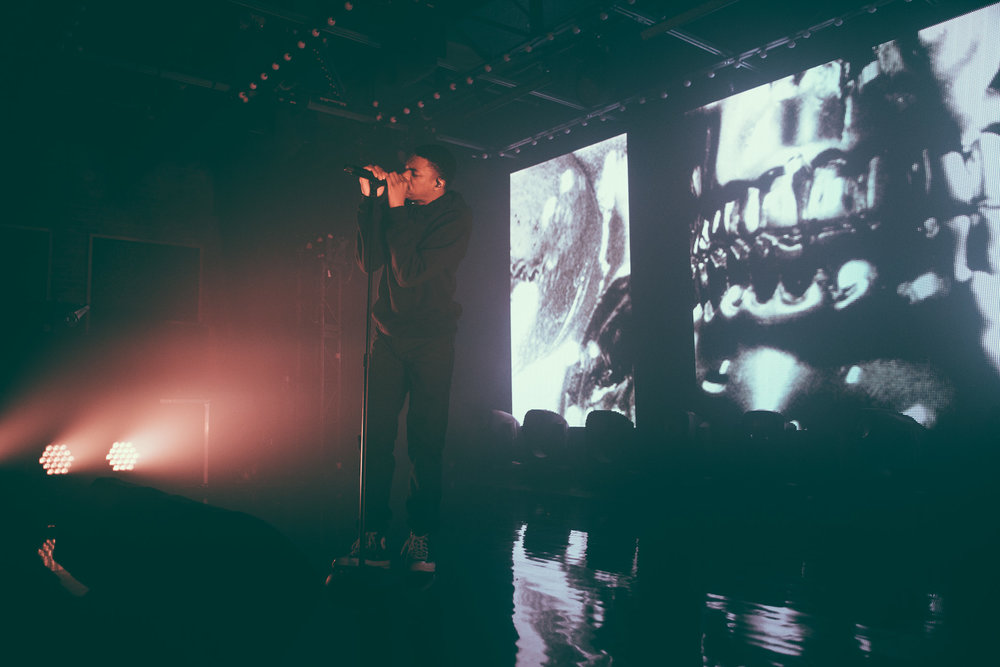 Vince Staples performs at Saturn Birmingham in Birmingham, Alabama on April 4th, 2017.   (Photo by David A. Smith/DSmithScenes)