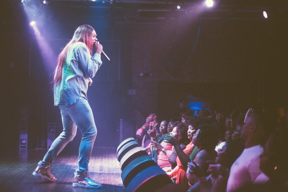 Big Freedia performs at Saturn Birmingham in Birmingham, Alabama on March 24th, 2017. (Photo by David A. Smith/DSmithScenes)