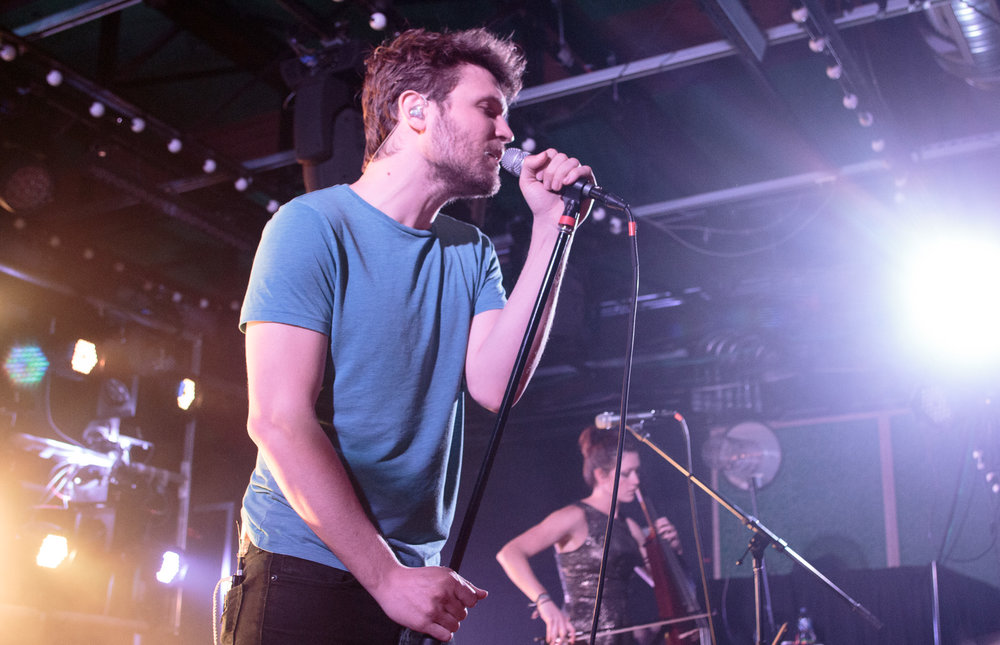 Ra Ra Riot performs at Saturn Birmingham in Birmingham, Alabama on March 12th, 2016. (Photo by David A. Smith/DSmithScenes)