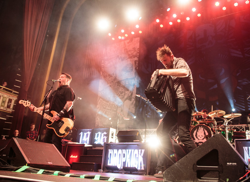 Dropkick Murphys: March 5th, 2016 - The Tabernacle - Atlanta, GA
