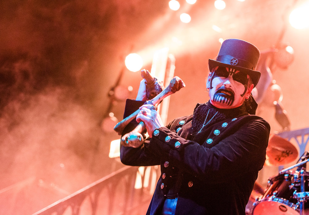 King Diamond performs at The Tabernacle in Atlanta, Georgia on November 16th, 2015.   (Photo by David A. Smith/DSmithScenes)