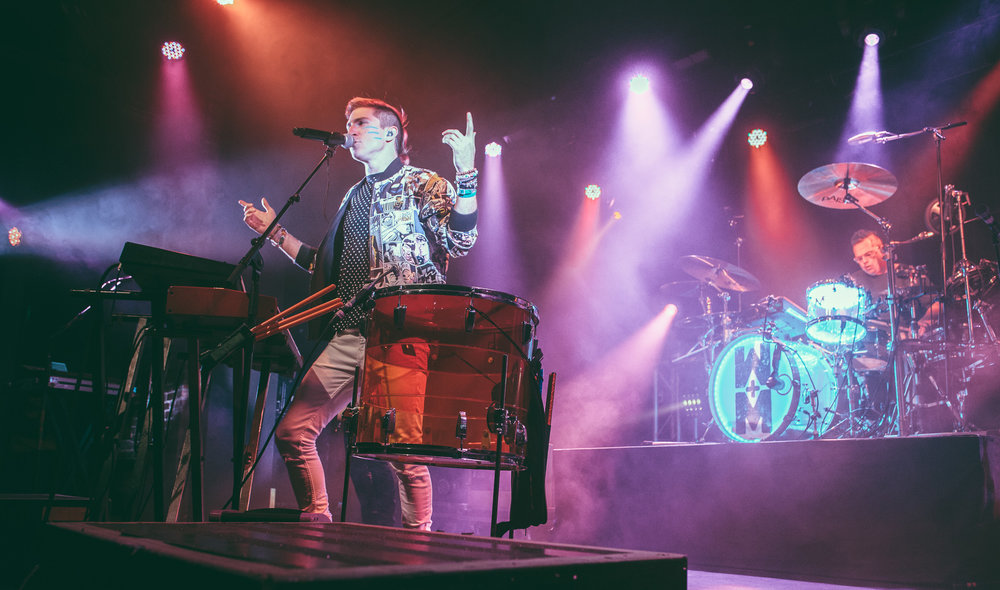 WALK THE MOON performs at Iron City in Birmingham, Alabama on October 18th, 2015. (Photo by David A. Smith/DSmithScenes)