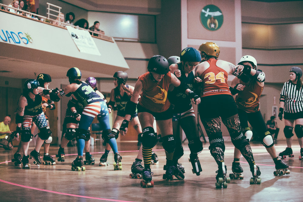 Tragic City Rollers Birmingham Roller Derby Cultural Photography