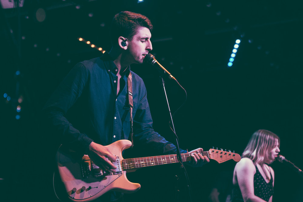 Tigers Jaw performs in concert at Saturn Birmingham in Birmingham, Alabama on March 1st, 2018. (Photo by David A. Smith/DSmithScenes)