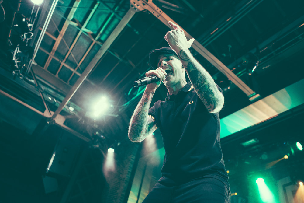 Dropkick Murphys perform in concert at Iron City in Birmingham, Alabama on March 5th, 2018. (Photo by David A. Smith/DSmithScenes)