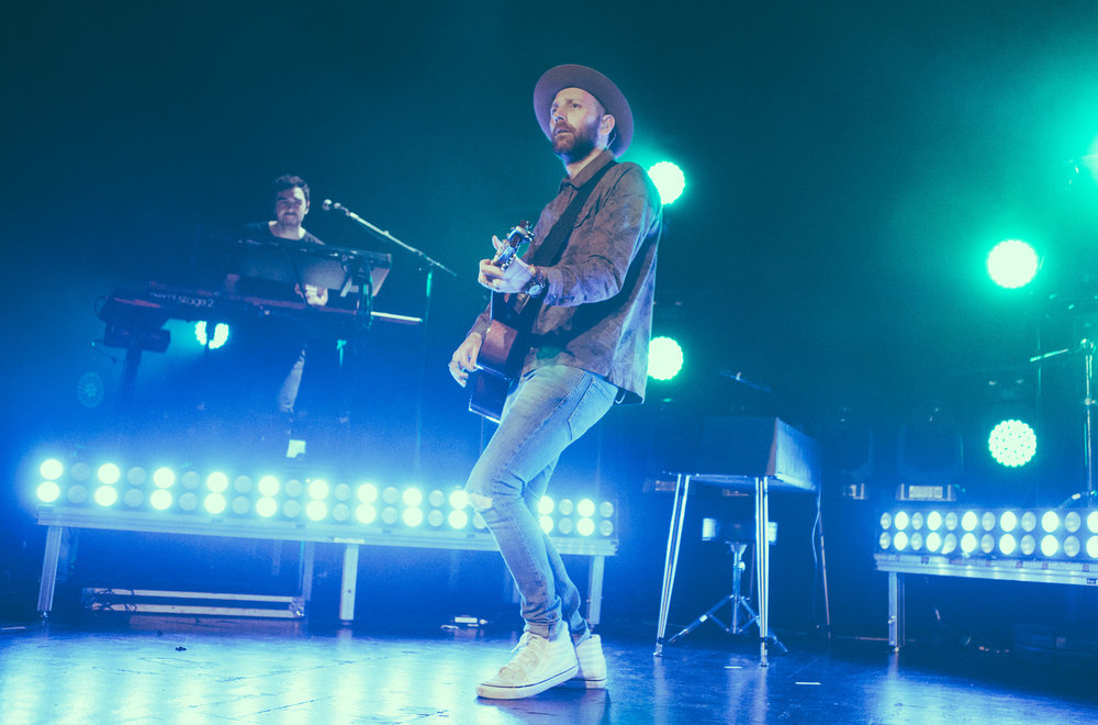 Mat Kearney performs in concert at Iron City in Birmingham, Alabama on March 22nd, 2018. (Photo by David A. Smith/DSmithScenes)