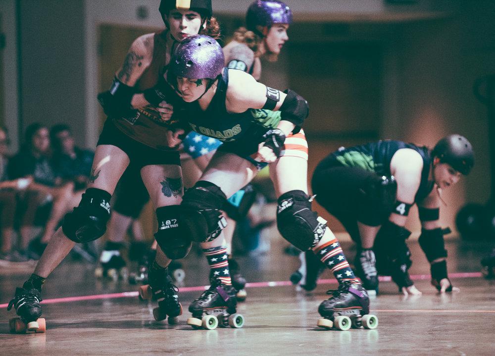 Tragic City Rollers: Hot Quads vs. Rollsheviks