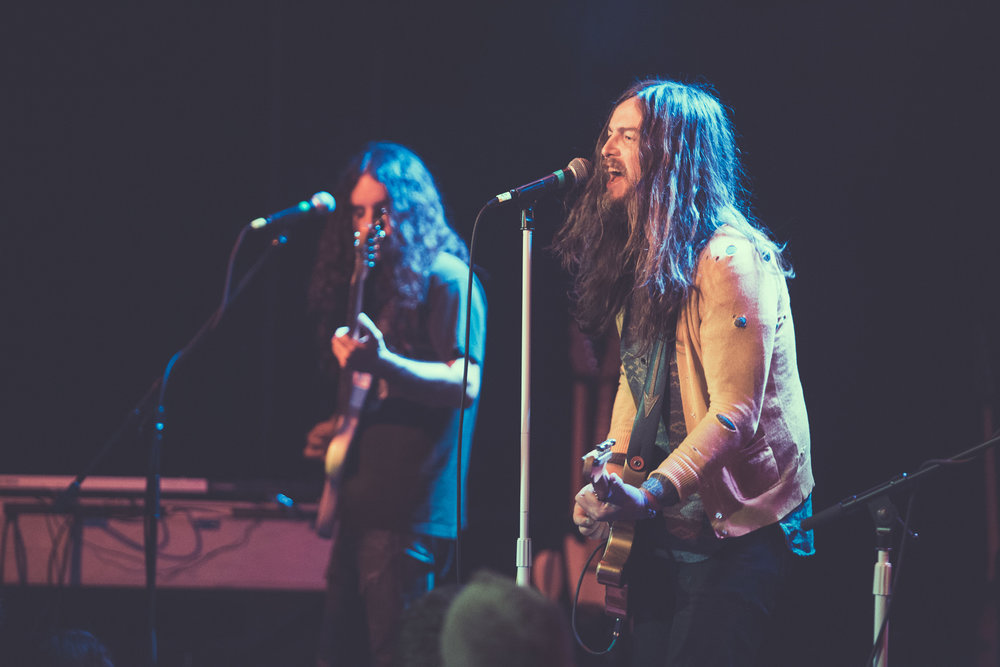 J Roddy Walston and The Business perform in concert at Saturn Birmingham in Birmingham, Alabama on April 13th, 2018. (Photo by David A. Smith/DSmithScenes)