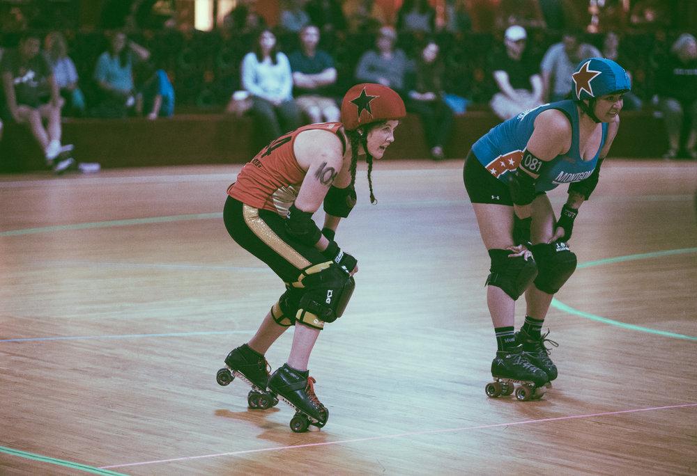 Druid City Dames vs. Montgomery Roller Derby
