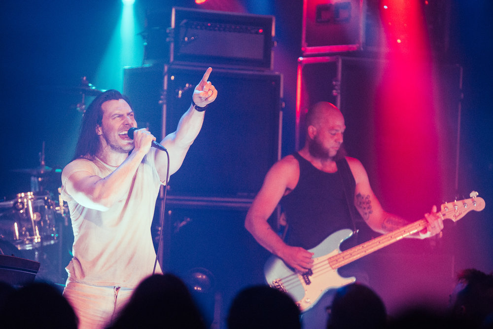 Andrew W.K. performs in concert at Saturn Birmingham in Birmingham, Alabama on May 3rd, 2018. (Photo by David A. Smith/DSmithScenes)