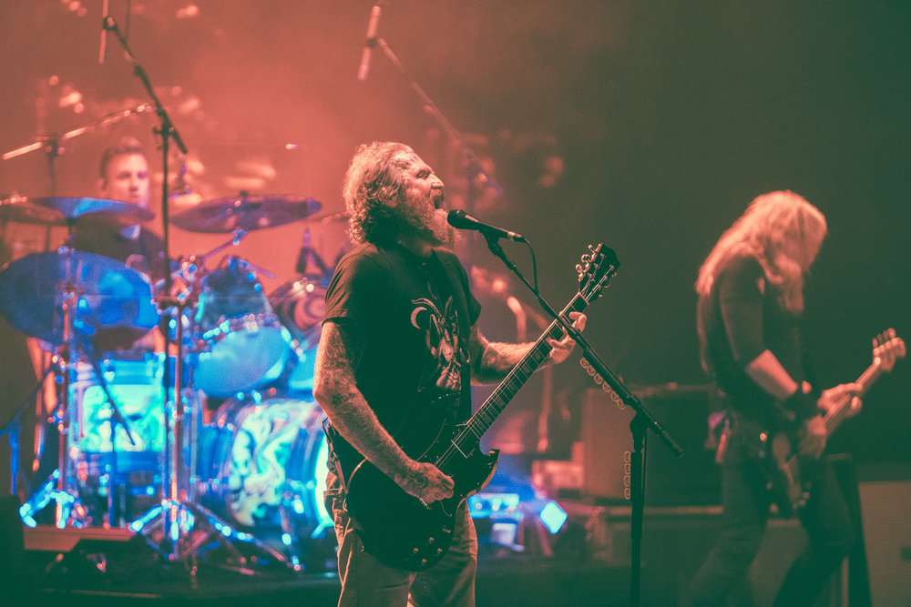Mastodon performs in concert at the Birmingham-Jefferson Civic Center Concert Hall in Birmingham, Alabama on May 14th, 2018. (Photo by David A. Smith/DSmithScenes)