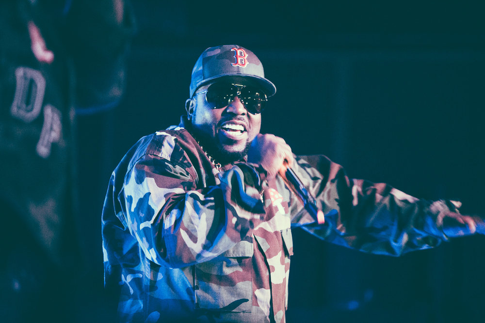 Big Boi performs in concert at Saturn Birmingham in Birmingham, Alabama on June 6th, 2018. (Photo by David A. Smith/DSmithScenes)