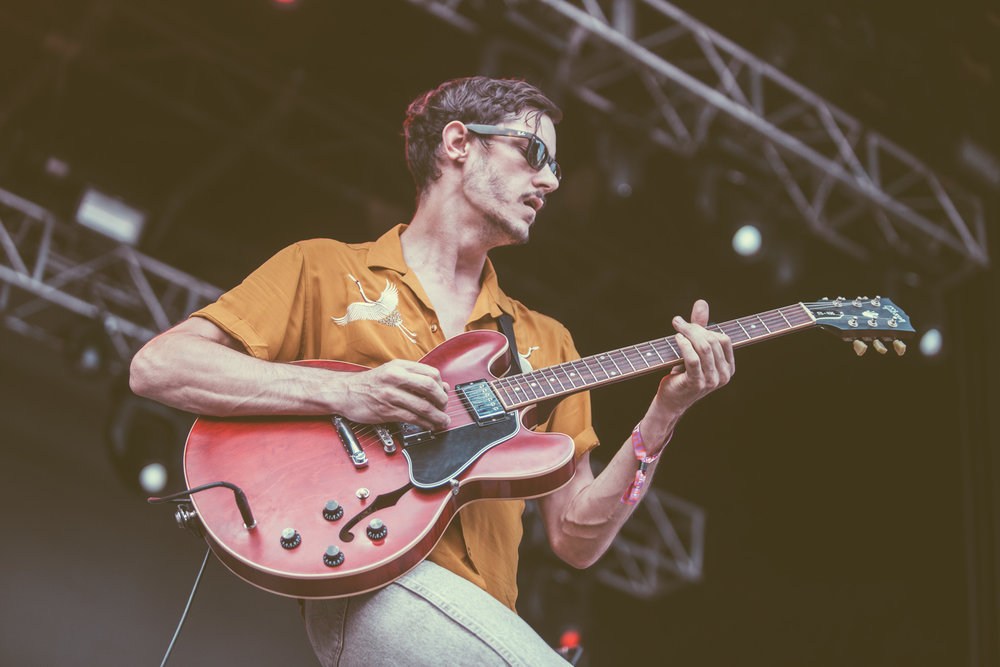 Jacob Bryant of The Brummies performs at the 2018 Sloss Music and Arts Festival in Birmingham, Alabama on July 15th, 2018 (Photo by David A. Smith/DSmithScenes)