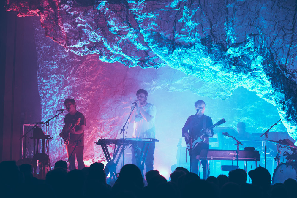 Grizzly Bear performs in concert at Iron City in Birmingham, Alabama on September 9th, 2018. (Photo by David A. Smith/DSmithScenes)