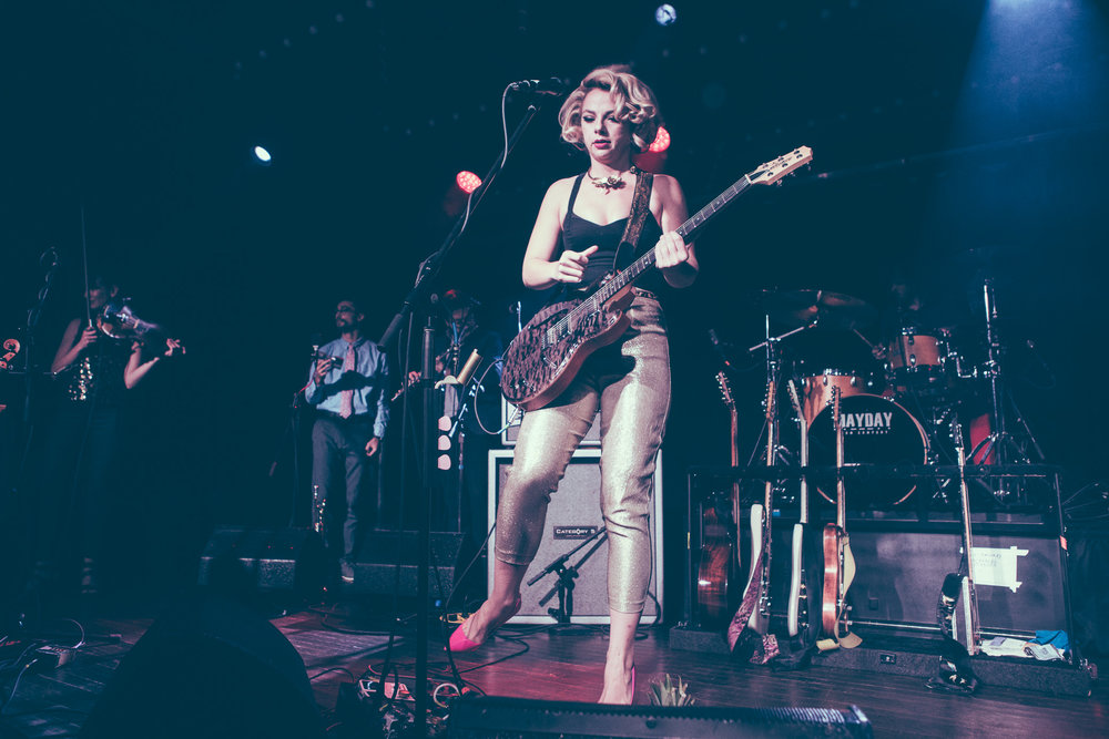 Samantha Fish performs in concert at Saturn Birmingham in Birmingham, Alabama on October 17th, 2018. (Photo by David A. Smith / DSmithScenes)