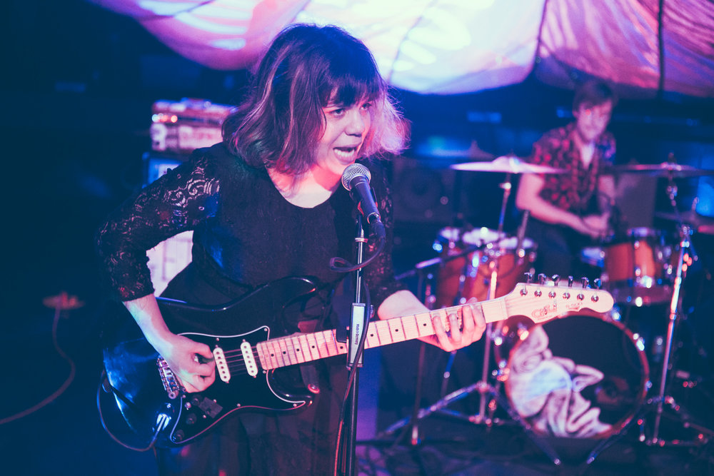 Screaming Females perform in concert at Saturn Birmingham in Birmingham, Alabama on October 23rd, 2018. (Photo by David A. Smith / DSmithScenes)