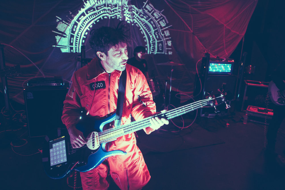 Man or Astro-Man? performs in concert at Saturn Birmingham in Birmingham, Alabama on December 2nd, 2018. (Photo by David A. Smith / DSmithScenes)