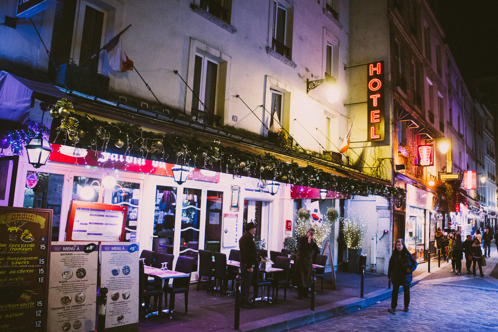 Saint-Germain | Paris, France | December 7th, 2018 | (Photo by David A. Smith / DSmithScenes)