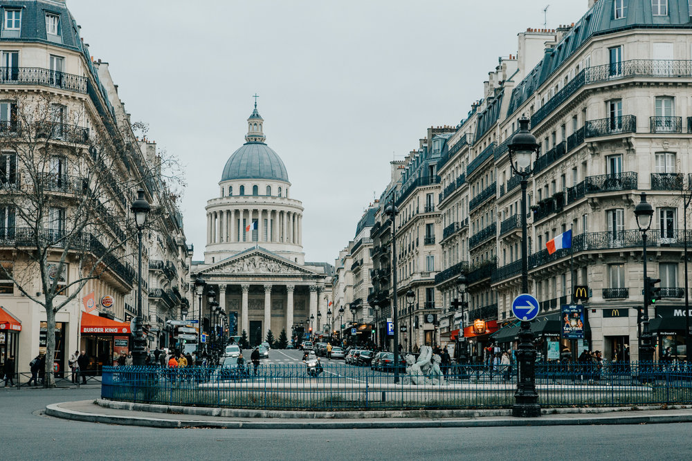 Saint-Germain | Paris, France | December 8th, 2018 | (Photo by David A. Smith / DSmithScenes)