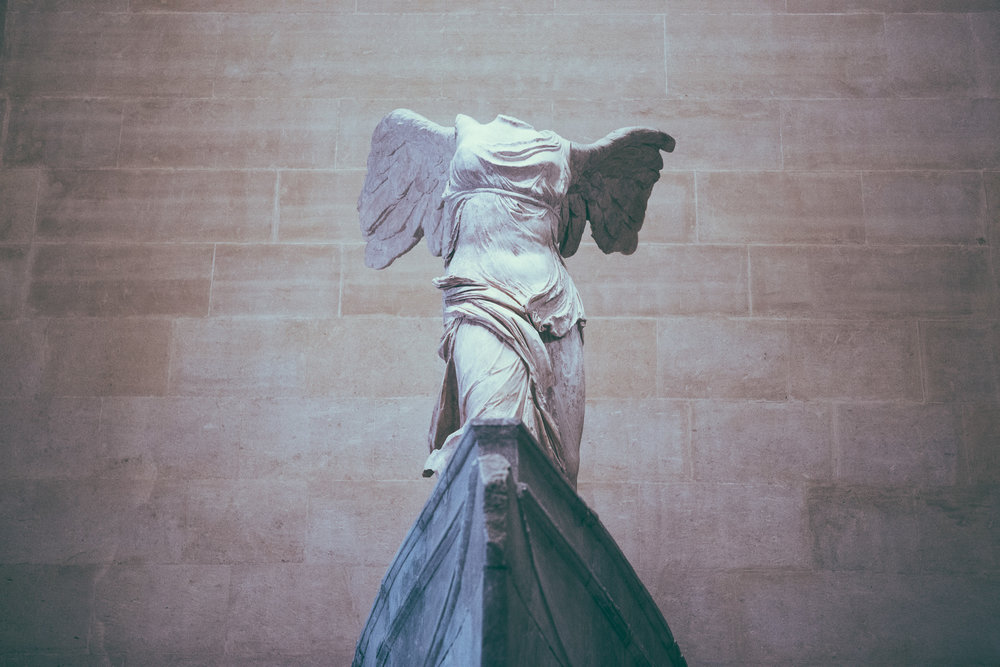 The Winged Victory of Samothrace | The Louvre | Paris, France | December 9th, 2018 | (Photo by David A. Smith / DSmithScenes)