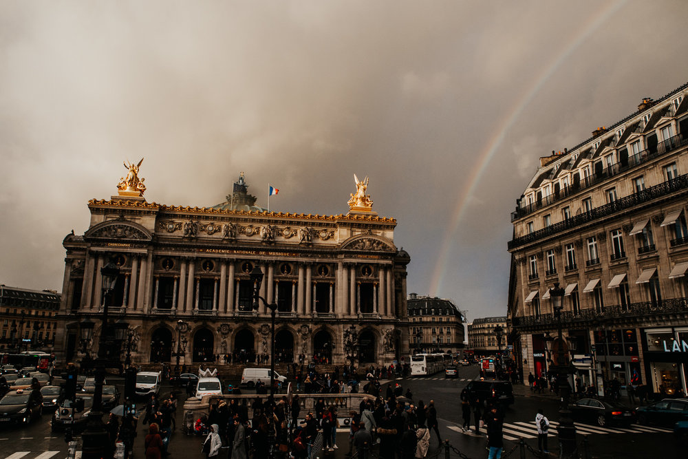 Rainbow | Paris, France | December 9th, 2018 | (Photo by David A. Smith / DSmithScenes)