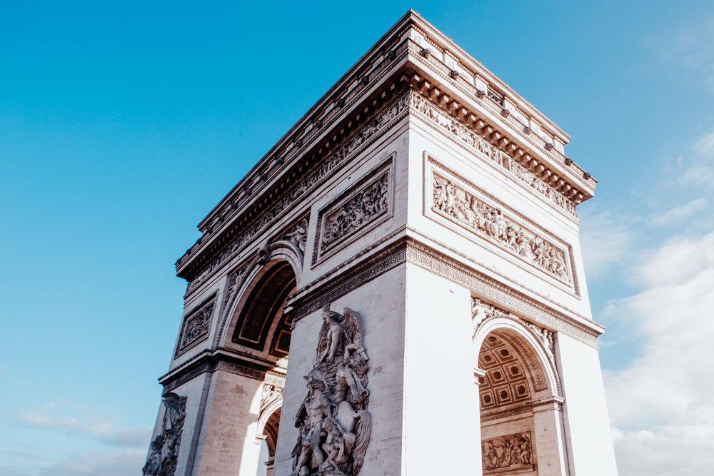 Arc de Triomphe | Paris, France | December 10th, 2018 | (Photo by David A. Smith / DSmithScenes)