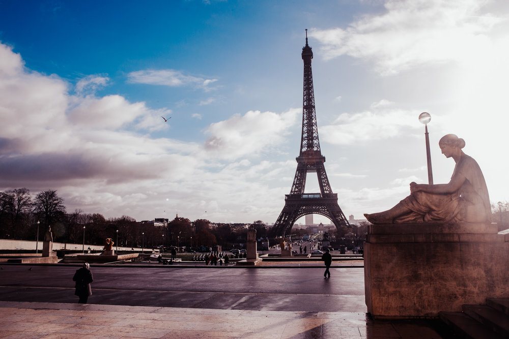The Eiffel Tower as seen from The Troacdero | Paris, France | December 10th, 2018 | (Photo by David A. Smith / DSmithScenes)