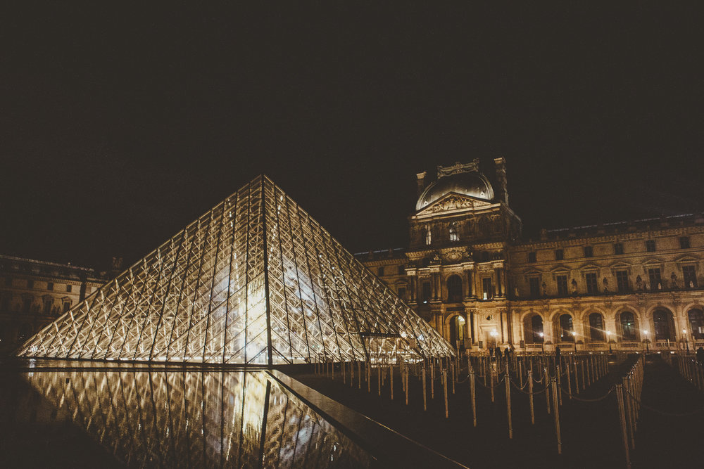 The Louvre | Paris, France | December 10th, 2018 | (Photo by David A. Smith / DSmithScenes)